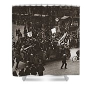 World War I Celebration Shower Curtain