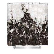 World War I Monument Shower Curtain