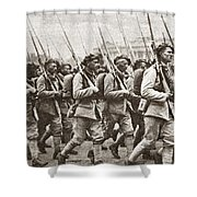 World War I Paris, C1917 Shower Curtain