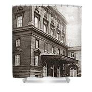 World War I Quai D'orsay Shower Curtain
