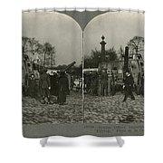 World War I Tank Shower Curtain