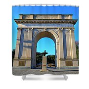 World War I Victory Arch Newport News Shower Curtain