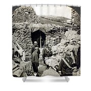 World War I: Wounded, 1918 Shower Curtain