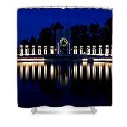 World War II Memorial Shower Curtain