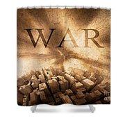 World War  Shower Curtain