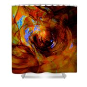 Wormhole Storm Shower Curtain