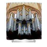 Worms Cathedral Organ Shower Curtain