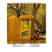 Worn And Weathered Shower Curtain by Jeff Swan