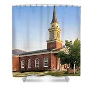 Worthington Presbyterian Church Shower Curtain