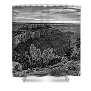 Wotan's Throne North Rim Grand Canyon National Park - Arizona Shower Curtain