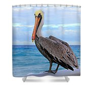 Would You Like To Join Shower Curtain