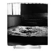 Wounded Sleeps  Shower Curtain