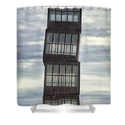 Wounded Star Shower Curtain