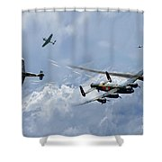 Wounded Warrior Shower Curtain