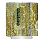 Woven Branches Shower Curtain