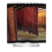 Woven Interactions Shower Curtain