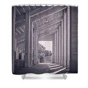 Wpa Project Farrington Field Shower Curtain