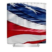 Wrapped Shower Curtain