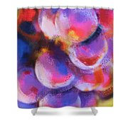 Wrath Of Grapes Shower Curtain