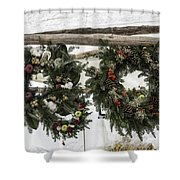 Wreaths For Sale Colonial Williamsburg Shower Curtain
