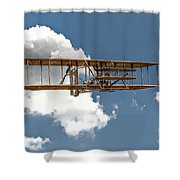 Wright Brothers First Flight Shower Curtain