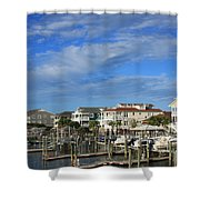 Wrightsville Beach - North Carolina Shower Curtain