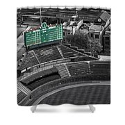 Wrigley Field Chicago Sports 04 Selective Coloring Shower Curtain
