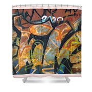Writing On The Wall 1 Shower Curtain