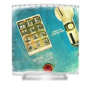 Wrong Code Shower Curtain