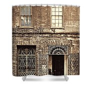 Wrought Iron Gates Shower Curtain