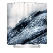Wuthering Heights. Glencoe. Scotland Shower Curtain by Jenny Rainbow