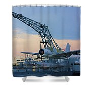 Ww II Sea Plane Shower Curtain