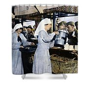 Ww1: Red Cross, 1918 Shower Curtain