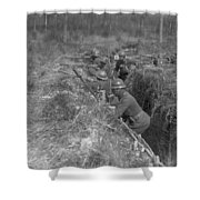 Wwi Black Troops, 1918 Shower Curtain