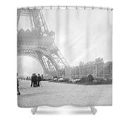 Wwi Eiffel Tower, C1914 Shower Curtain