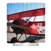 Wwi German Fighter Shower Curtain