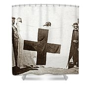 Wwi Refugees, 1914 Shower Curtain