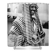 Wwii Fighters In Africa Shower Curtain