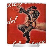 Wwii: Italian Poster, 1944 Shower Curtain by Granger