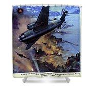 Wwii Royal Air Force, C1942 Shower Curtain