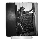 Wwii: Tuskegee Airman, 1945 Shower Curtain