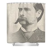 Wyatt Earp U. S. Marshal Shower Curtain