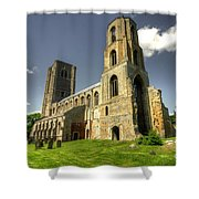 Wymondham Abbey  Shower Curtain