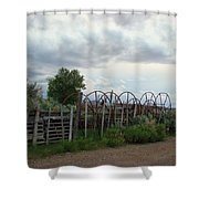 Wyoming Backroads 2 Shower Curtain