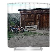 Wyoming Backroads Shower Curtain