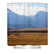 Wyoming Beauty Two Shower Curtain