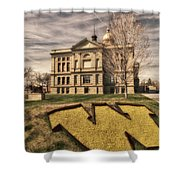 Wyoming Capitol Building Shower Curtain