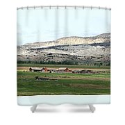 Wyoming Ranch Shower Curtain