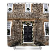 Wythe House Squared Shower Curtain