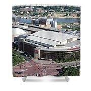 Xcel Energy Center In St. Paul Minnesota Shower Curtain
